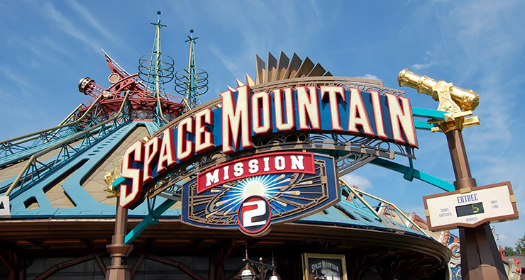 Space Mountain Front