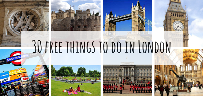 30 free things to do in London