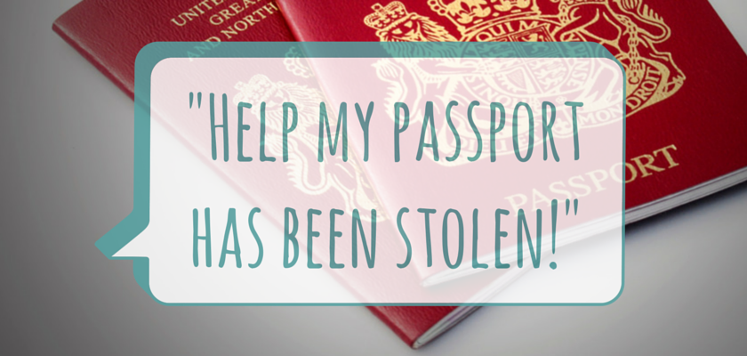 Help my passport has been stolen!