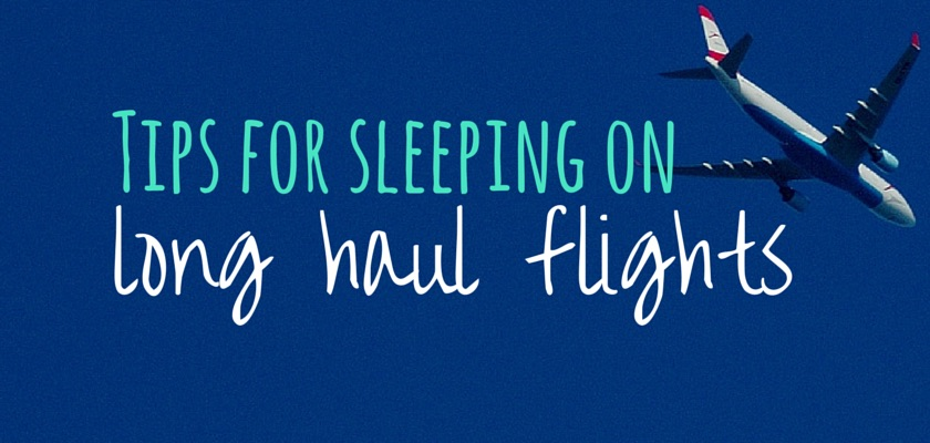 Tips for sleeping on long haul flights