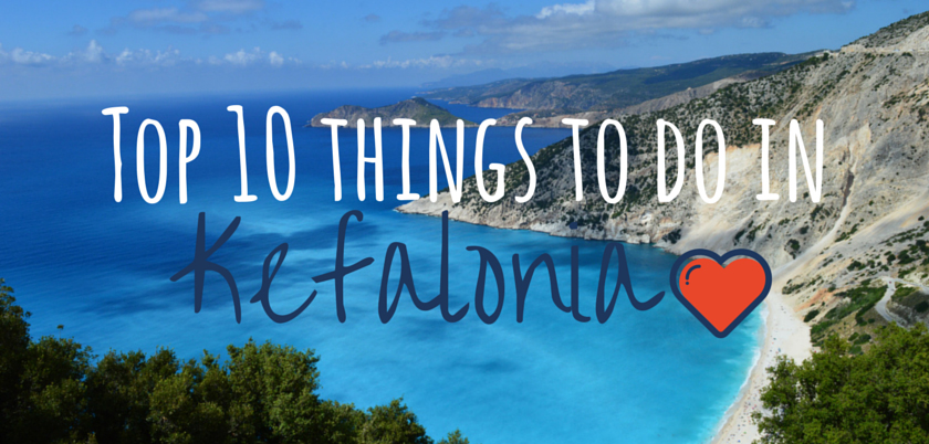Top 10 things to do in Kefalonia