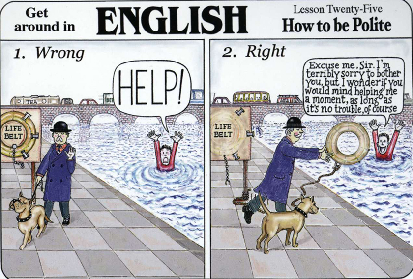 The difference between american and british humor