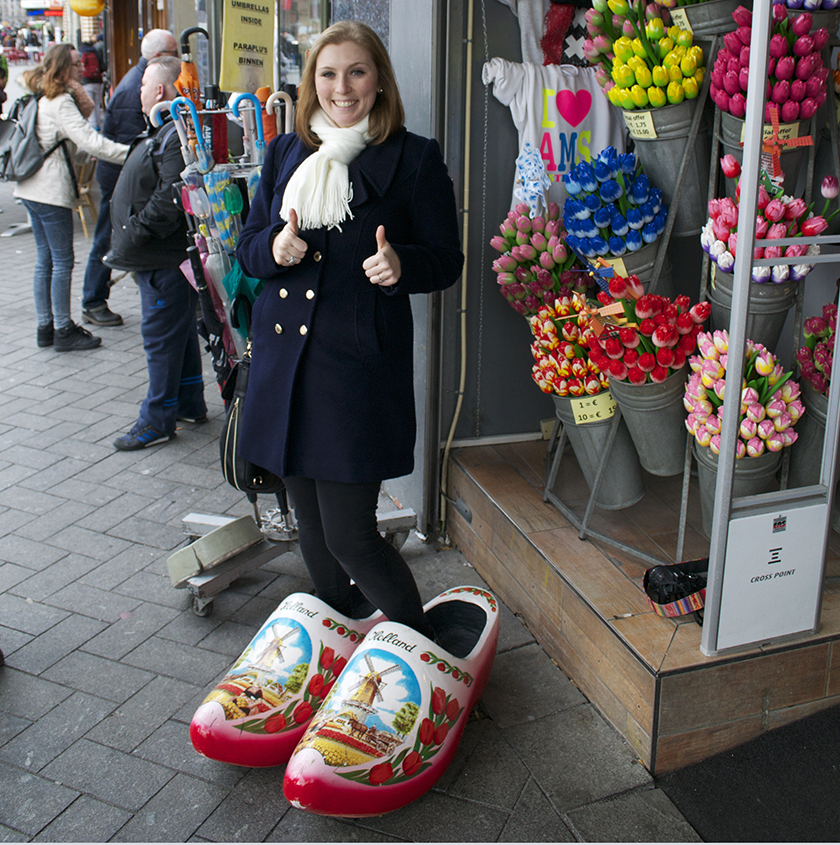 Clogs and Tulips Amsterdam