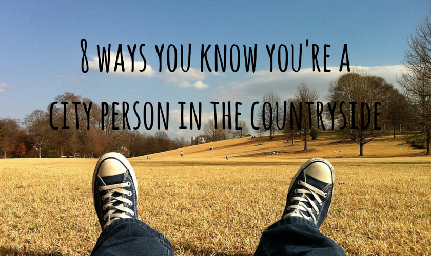 8 ways you know you're a city person in