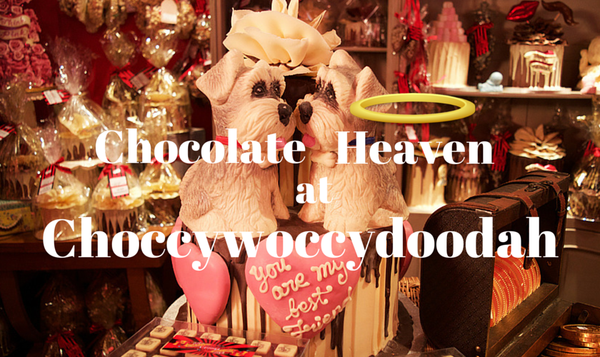 Chocolate Heaven at Choccywoccydoodah