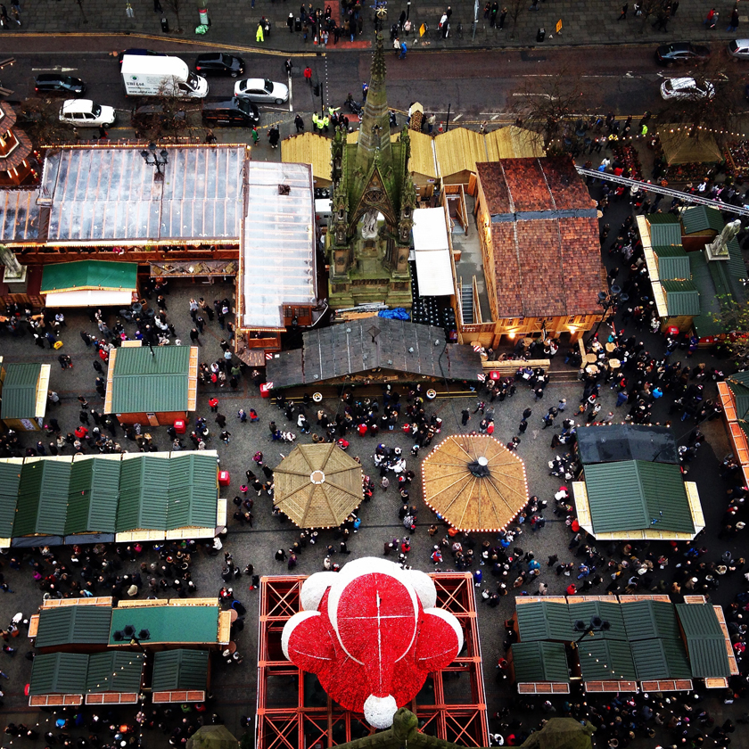 Christmas Markets from Top of Town Hall6