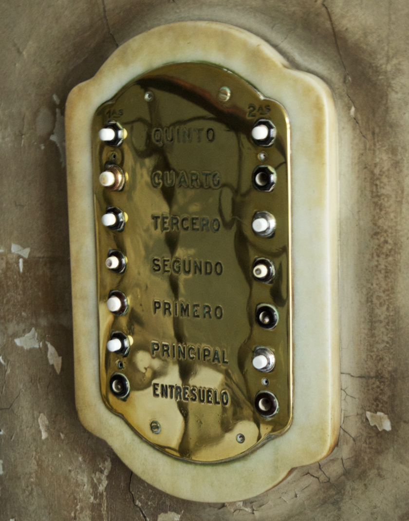 Downstairs buttons