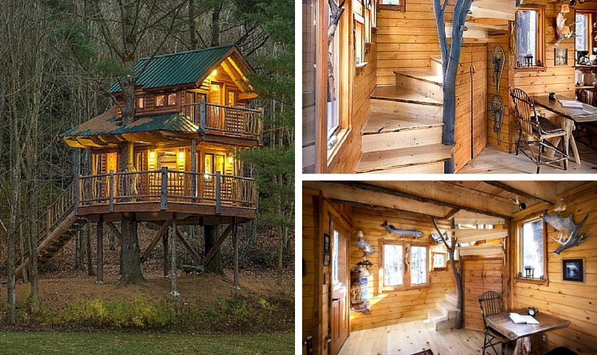 Top 10 Treehouse Experiences By Glamping Hub Footsteps