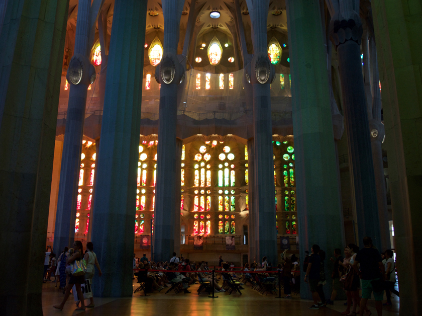 Warm Windows Sagrada Familia