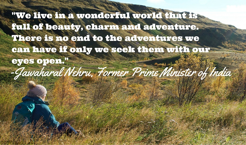We live in a wonderful world_travel_quote