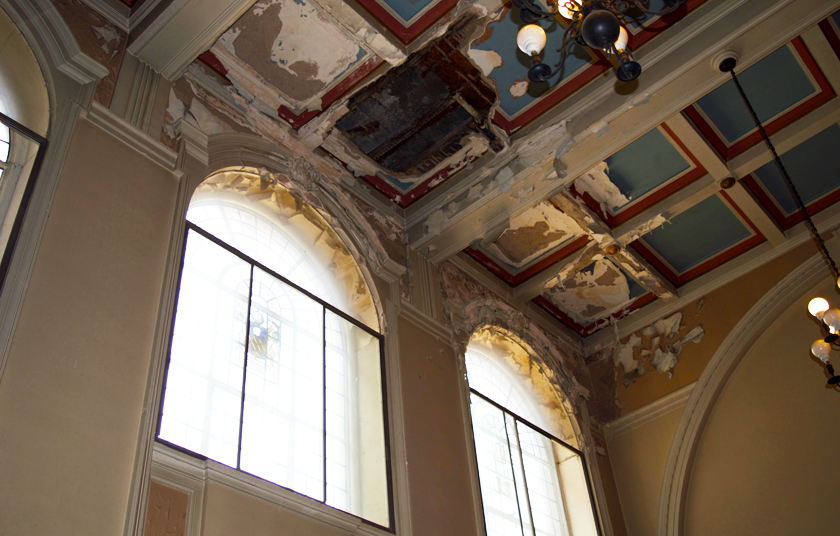 Ceiling_court_house_London Road Fire Station