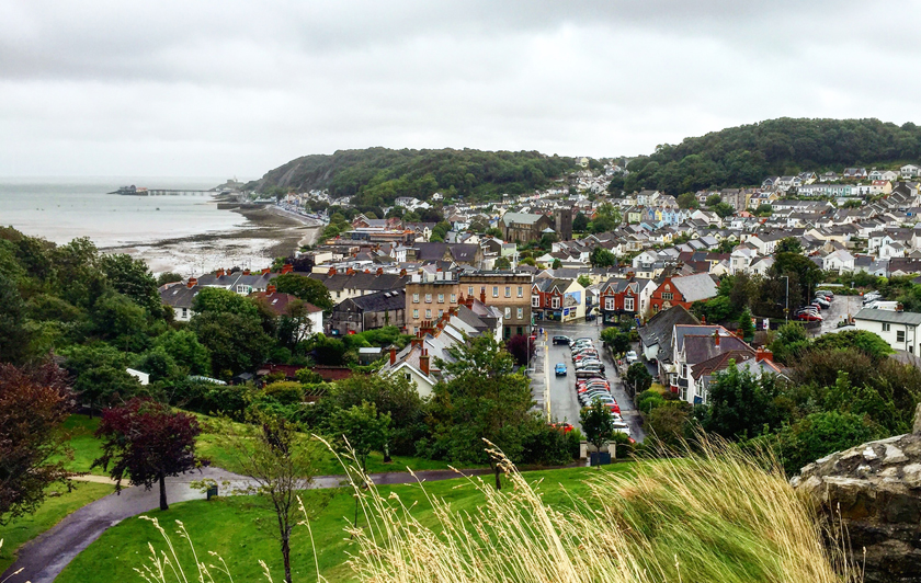 Oystermouth_Castle_View