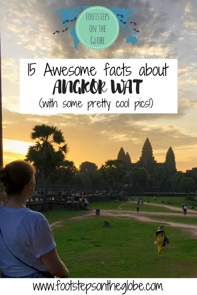 Facts about Angkor Wat Pinterest image