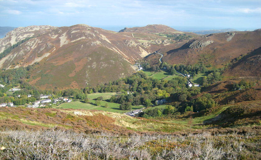 Conwy Mountain.