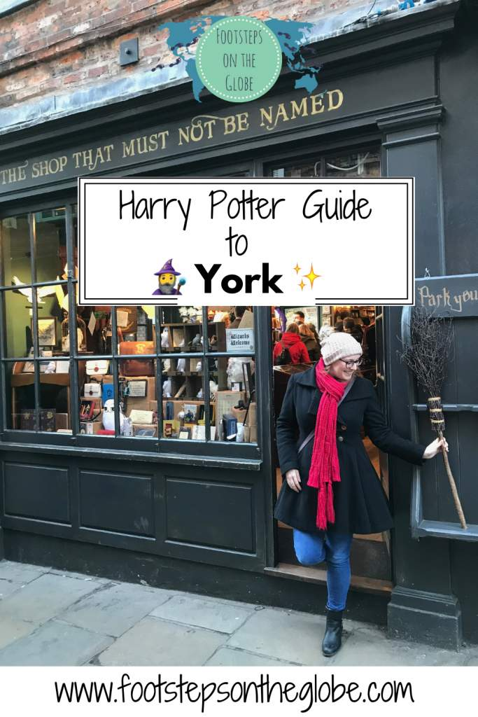 Harry Potter Guide to York (and nearby wizarding hot spots!) pinterest image
