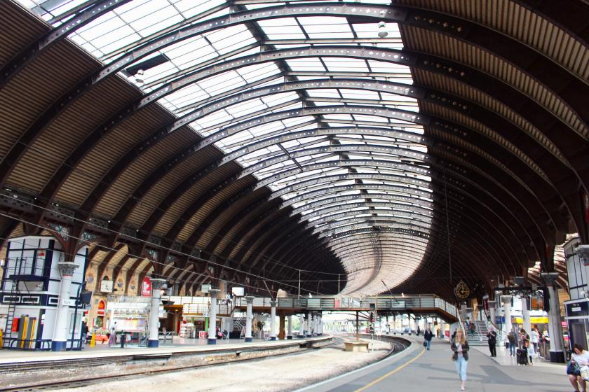York railway station which featured in Harry Potter and the Philospher's Stone